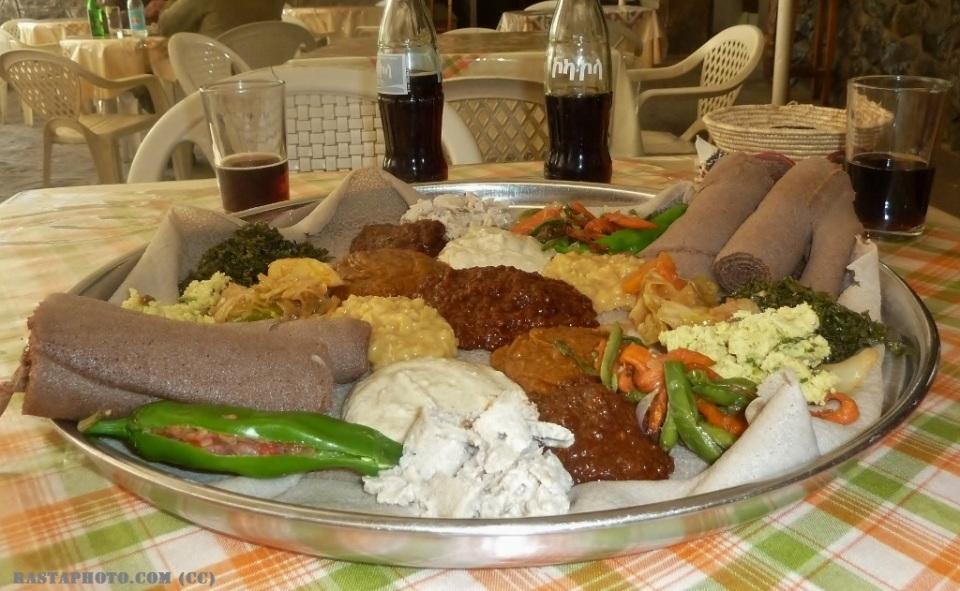Fasting food and Injera
