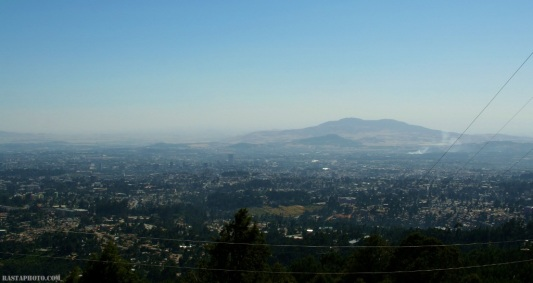 Addis Ababa view from Entoto