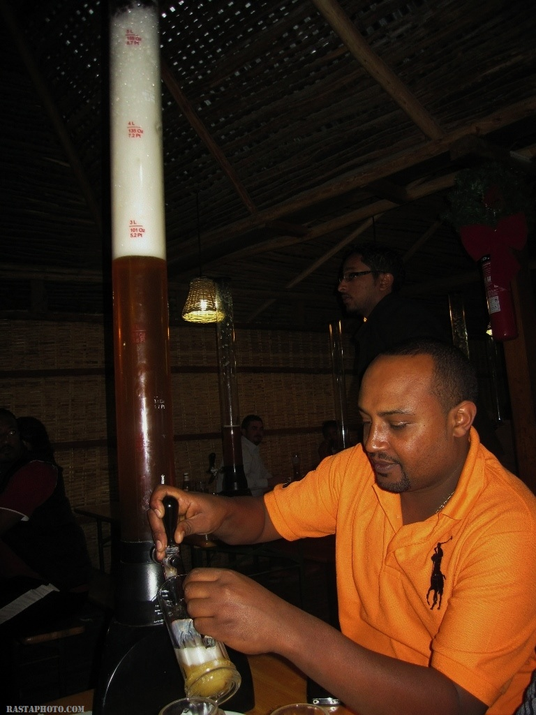 beer Garden Bole area Addis Ababa