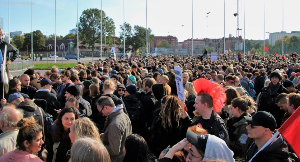 30 September Gothenburg  No to nazism